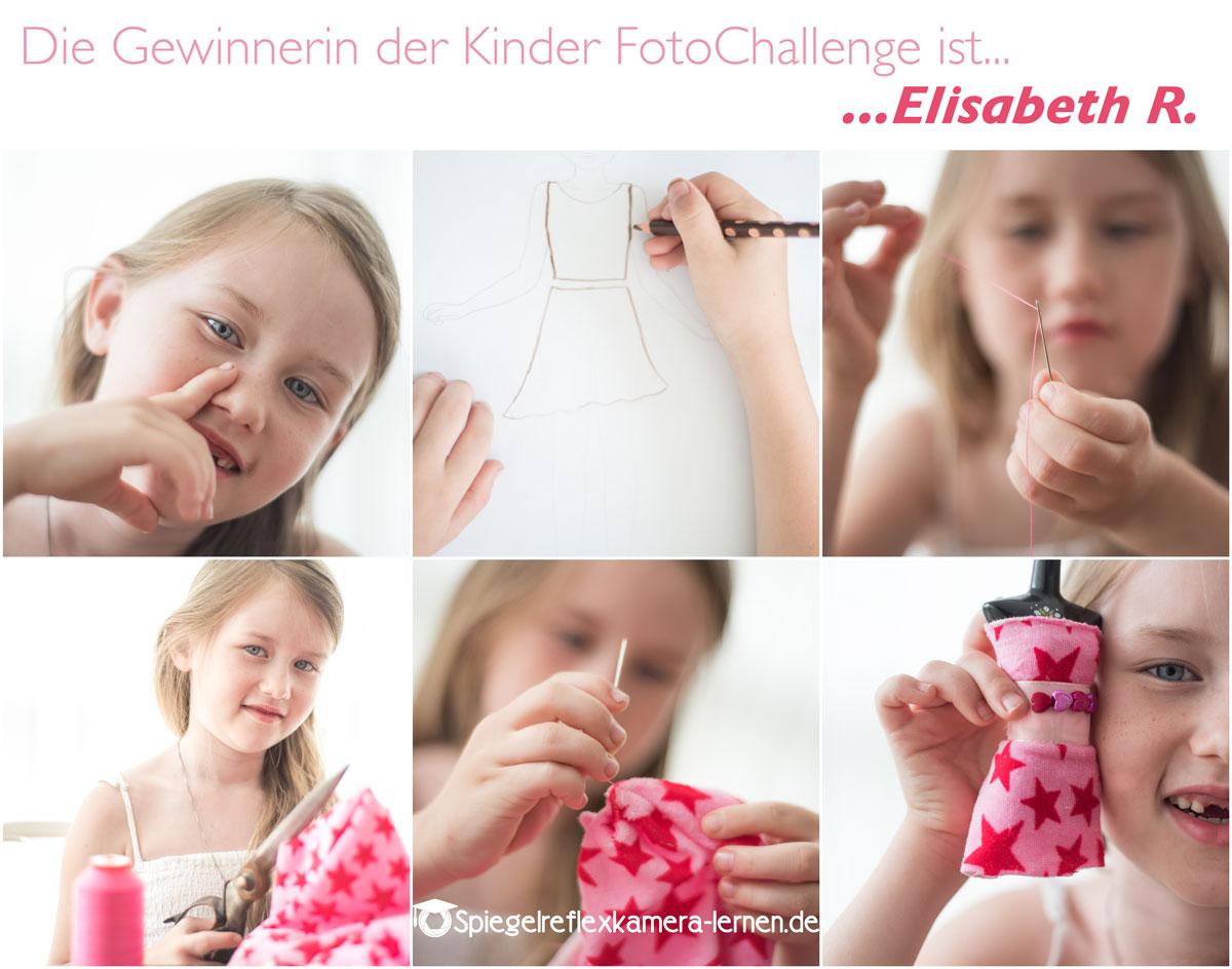 Fotowettbewerb mit lustigen Kinderfotos