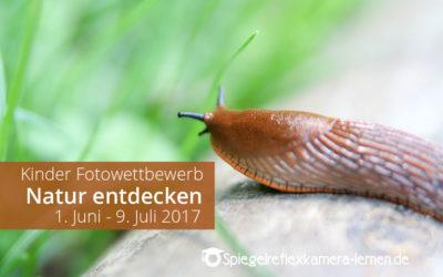 Fotowettbewerb 2017 – Kinder entdecken die Natur