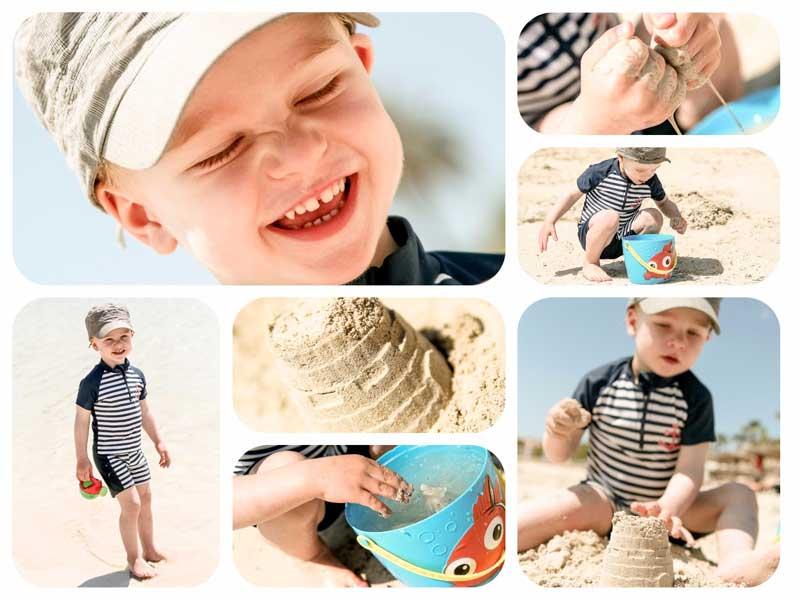 Richtig Fotografieren - Moritz entdeckt den Sand in der Natur