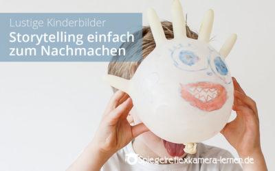 Lustige Kinderbilder – Entdecke verschiedene Charaktere Deines Kindes mit Storytelling