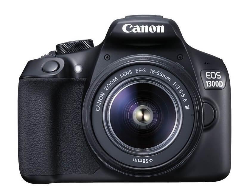 Canon Spiegelreflexkamera für Einsteiger - Modell EOS 1300D